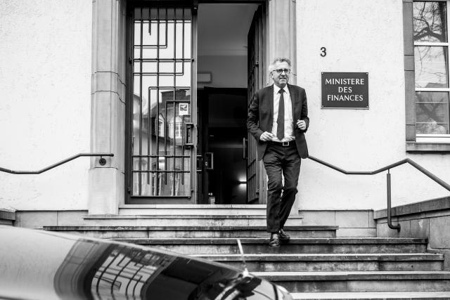 Entre ses nombreux déplacements à l'étranger et ses dossiers politiques allant du budget de l'État à la gestion de la Place, l'emploi du temps d'un ministre des Finances est particulièrement chargé. (Photo: Anthony Dehez)
