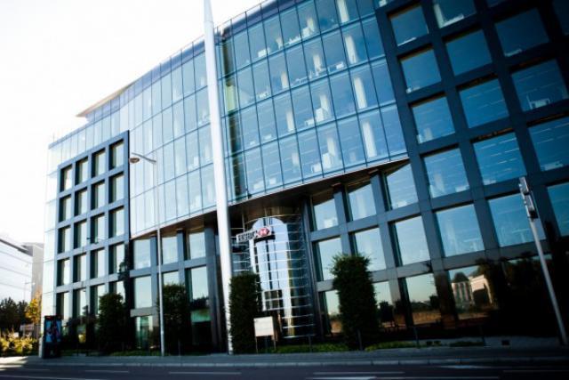 Les bureaux de HSBC boulevard d'Avranches (Photo : Jessica Theis / archives)