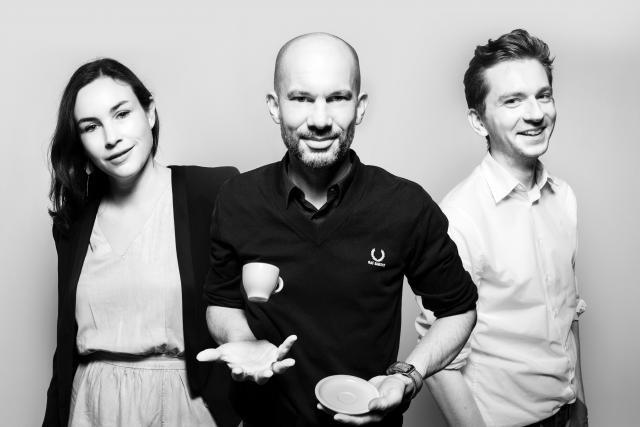 Stéphanie Poras, Guido Kröger et Vinzenz Hölzl. (Photo: Maison Moderne)