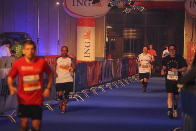 Le 12 mai prochain, 16.000 coureurs de 45 pays différents se réuniront pour participer à l'ING Night Marathon. (Photo: Licence C.C.)