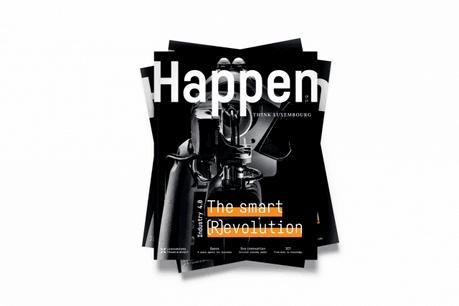 Le numéro 2 de Happen compte 84 pages d'entrevues approfondies, d'articles sur les secteurs économiques clés du Luxembourg, de benchmarks et bien plus encore, issus du monde des affaires.  (Photo: Maison Moderne)