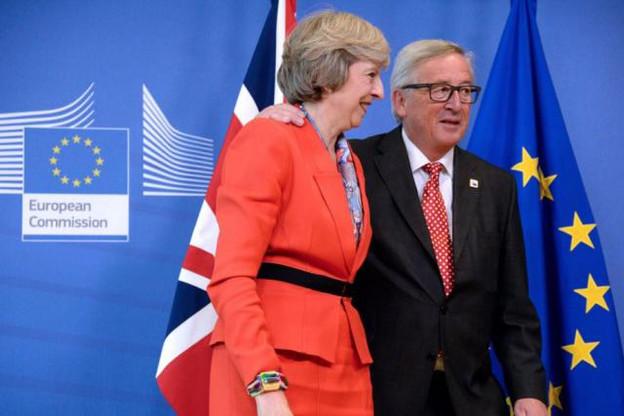 Pour la deuxième fois en quelques mois, les commentaires qu'aurait faits Jean-Claude Juncker suite à ses échanges avec Theresa May se sont retrouvés publiés. (Photo: Commission européenne/archives)