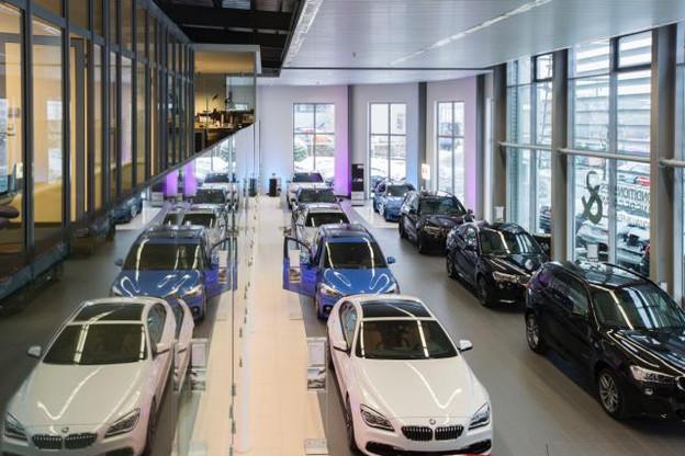 Le nouveau showroom du concessionnaire BMW Schmitz. (Photo: concessionnaire BMW Schmitz)
