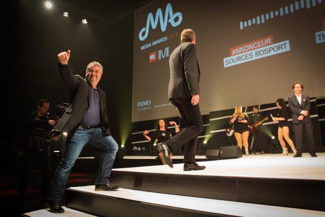 L'agence de Mike Sergonne ne manque pas d'humour...et aime partager ses victoires de la sorte. (Photo: Maison Moderne Studio)