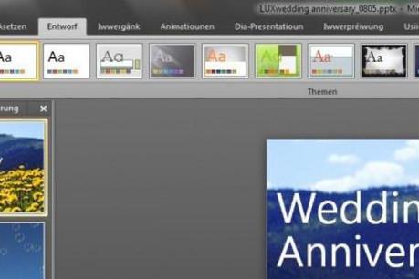 En tant que coordinateur du projet, RTL Luxembourg a eu pour mission d'affiner la liste de vocabulaire. (Visuel: Microsoft)
