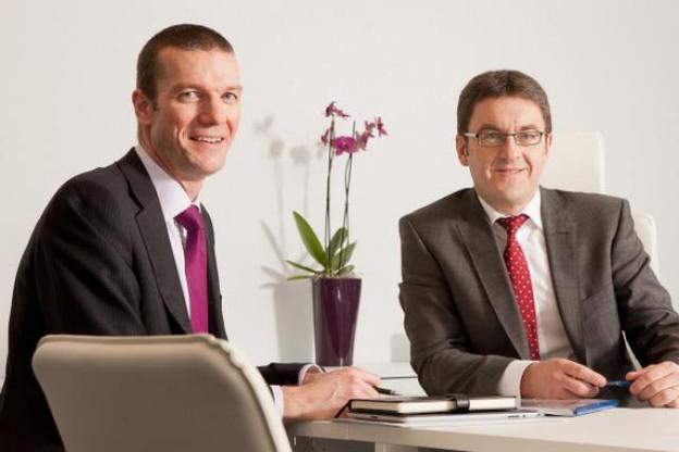 Paul Lawrence et Michel Thill dirigent le bureau luxembourgeois d'Ogier Fiduciary Services. (Photo : Ogier)