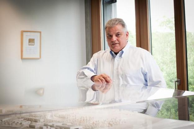 Flavio Becca, l'un des deux promoteurs du fonds immobilier Olos, procède au transfert de terrains du Ban de Gasperich dans une de ses sociétés de développement immobilier. (Photo: Jessica Theis /archives)