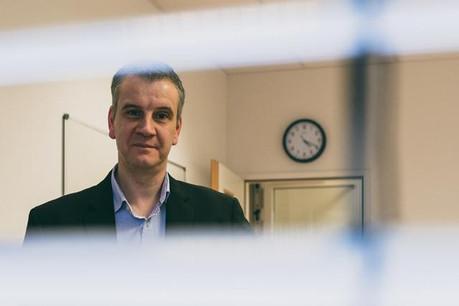 Marc Vandelaer: «Le temps que les chercheurs ne perdent pas dans les procédures informatiques, ils le consacrent à leur véritable métier.» (Photo: Sven Becker)
