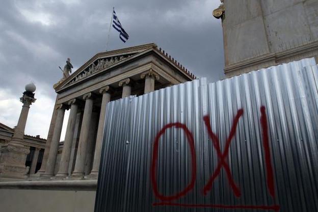 «Oxi» ressemble à un oui mais veut bel et bien dire non. (Photo: SYS Images)