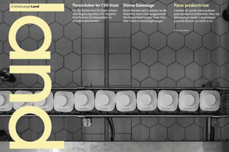 La nouvelle édition du Lëtzebuerger Land est dès ce vendredi matin dans les kiosques. (Photo: Land)