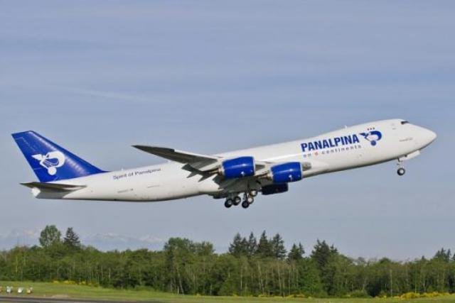 Pour la première fois, le nouvel appareil volera avec les couleurs de Panalpina. (Photo : Panalpina)