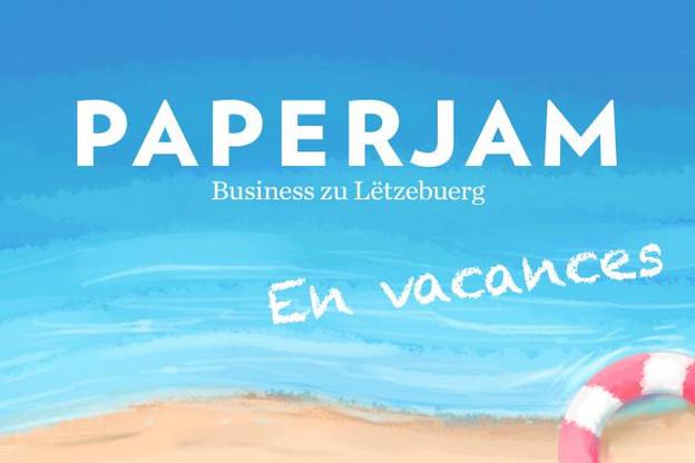 La rédaction de Paperjam vous souhaite de bonnes vacances. (Creation: maison Moderne Studio)
