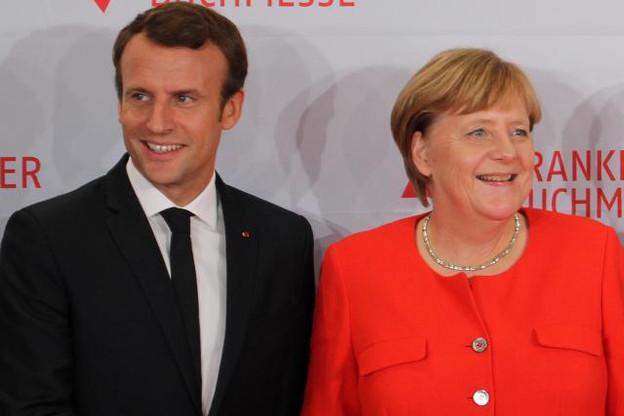 Emmanuel Macron et Angela Merkel pourraient annoncer un accord sur l'Accis lors du prochain sommet franco-allemand, le 19 juin. (Photo: Licence C. C.)