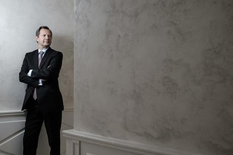 Christophe Berne, Société Générale Bank &Trust: «Chaque client a une histoire.» (Photo: Julien Becker)