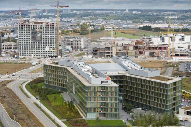 La Cloche d'Or sera à terme – notamment avec l'arrivée du tram – un nouveau lieu de vie dans la capitale. (Photo: Anthony Dehez / archives)