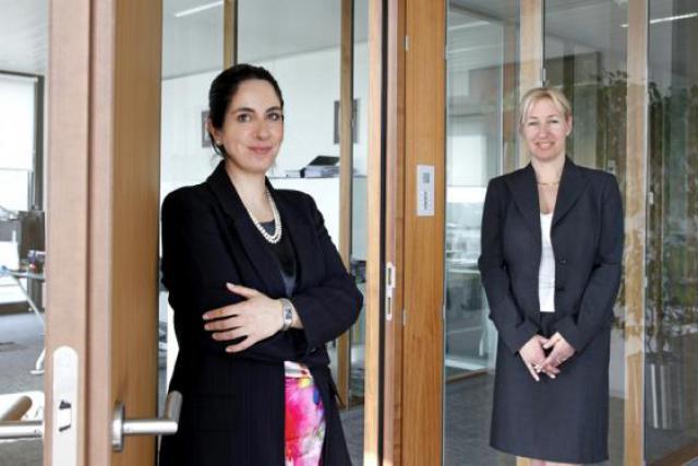 Annie Elfassi et Véronique Hoffeld (Loyens & Loeff) (Photo : Olivier Minaire)