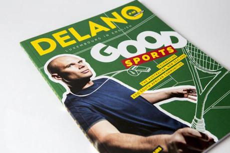 Ce mois-ci, Delano consacre sa cover story aux sports favoris d'expatriés. (Photo: Maison Moderne)