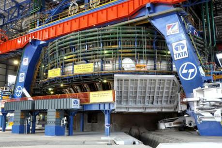 Un nouveau haut fourneau 'I' pour Tata Steel, à Jamshedpur (Inde), mis à feu en avril 2012. (Photo: Paul Wurth)