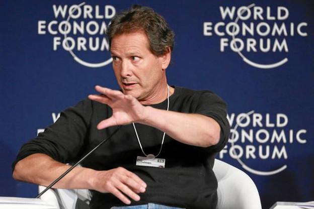 «De simple bouton de paiement sur les sites d'e-commerce, Paypal est devenu dans l'univers du commerce digital l'équivalent d'un système d'exploitation pour le mobile», explique Dan Schulman, le CEO de Paypal. (Photo: World Economic Forum)