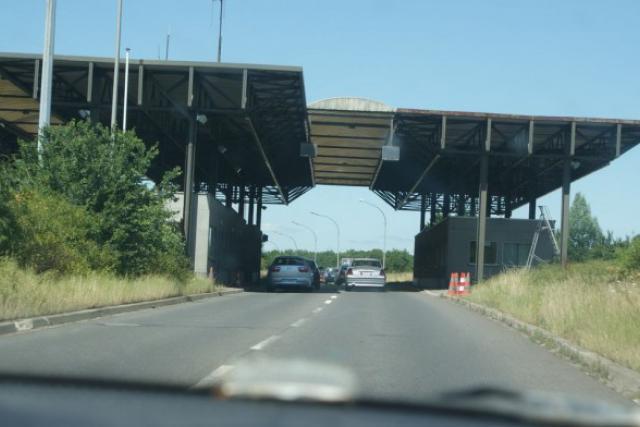 Le retour des frontières, avec portique façon péage. Les frontaliers seront-ils pris dans la nasse? (Photo: DR)