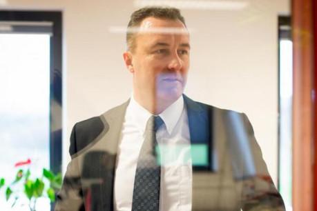 Patrick Melchior est regional sales manager chez TNT Luxembourg. (Photo: Jessica Theis)