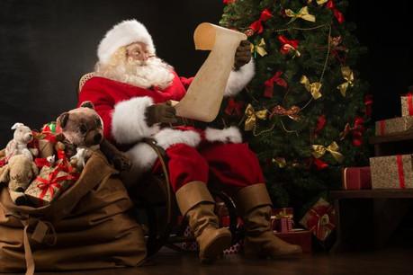 Le Père Noël est connu dans le monde entier, contrairement à saint Nicolas.  (Photo: Shuttersctock)