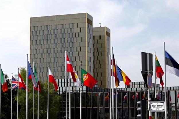 Il y aura bientôt un drapeau de moins au pied de la Cour de justice de l'Union européenne... (Photo: Olivier Minaire / archives)