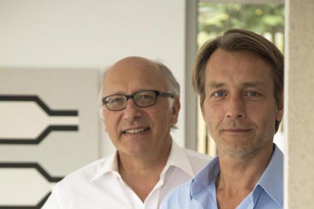 Michel Petit, à gauche sur la photo: «Notre volonté de faire est similaire. Nous recherchons tous les deux dans nos bâtiments une atmosphère agréable, une justesse esthétique et les bonnes proportions.» (Photo: DR)