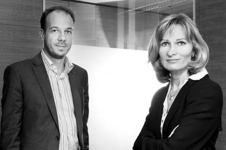 Nicolas Hurlin et Marilyn Colas Hurlin, cofondateurs de The Recruiter Box. (Photo : The Recruiter Box)