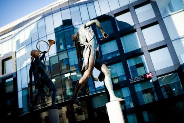 HSBC Securities Services a enclenché la procédure de plan social. (photo: Jessica Theis / archives)