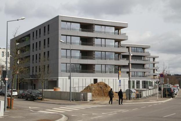 Le Fonds de compensation pourrait s'impliquer davantage dans la construction de logements sociaux (comme ici au Kirchberg). (Photo: Steinmetzdemeyer)