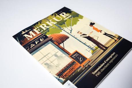 Merkur mars/avril 2016, 132 pages, 4 euros. (Photos: Maison Moderne Studio)