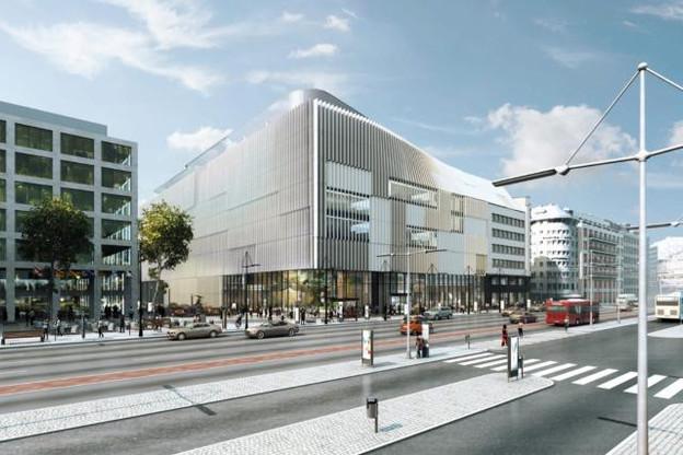 Le nouveau siège doit être finalisé mi-2022. (Illustration: Metaform architects)