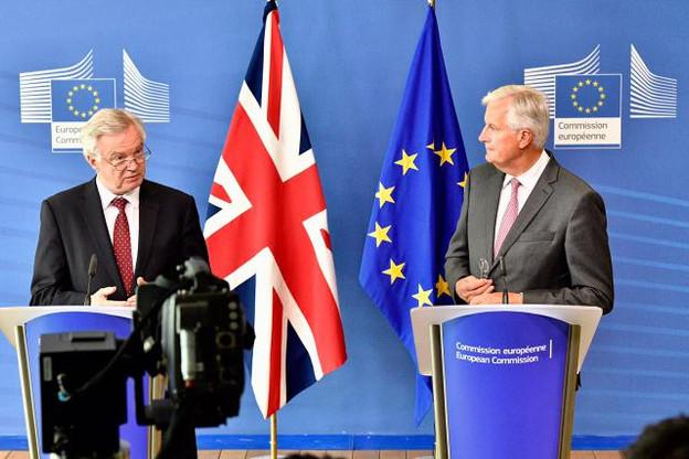 Après avoir appelé les Britanniques à négocier «sérieusement», Michel Barnier tance mercredi son homologue David Davis en retournant contre lui sa volonté de «flexibilité». (Photo: Commission Européenne)