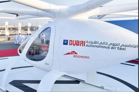 Dubaï prévoit d'intégrer, à terme, un service de taxis volants à son réseau de transport, qui compte déjà métro, bus et tramway. (Photo: Gouvernement de Dubaï)