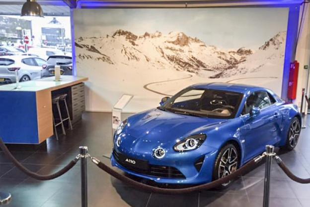 À l'occasion de l'Autofestival, la nouvelle Alpine A110 est présentée en exclusivité sur un stand installé chez Renault Luxembourg, à Gasperich. (Photo: Alpine Luxembourg)