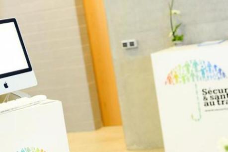 Le prix a été remis en présence du ministre Mars Di Bartolomeo. (Photo: sécurité-santé.lu)