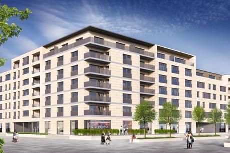 Près de 1.500 unités de logements seront construites dans le nouveau quartier. (Photos: Grossfeld Pap)