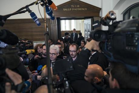 Soumis à une forte pression médiatique, les prévenus, dont Antoine Deltour, s'interrogent sur un éventuel pourvoi en Cassation en cas de confirmation de leur condamnation par la Cour d'appel. (Photo: Sven Becker / Archives)