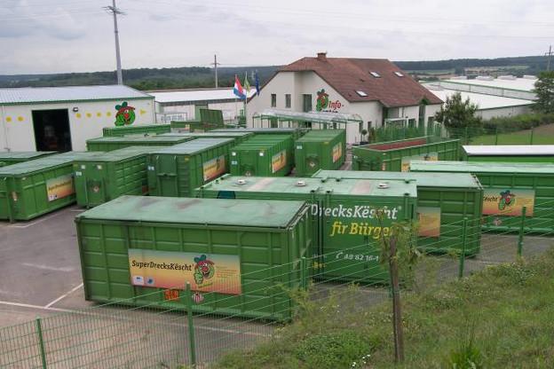 En 2013, 48% des 653 kilos de déchets produits par habitant ont été valorisés dans le recyclage ou le compostage. (Photo: SuperDrecksKëscht)