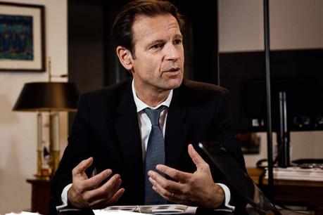 Olivier Chatain, patron des entités de Crédit Agricole au Luxembourg, espère, à terme, réunir les équipes sous un même toit. (Photo: Nader Ghavami)