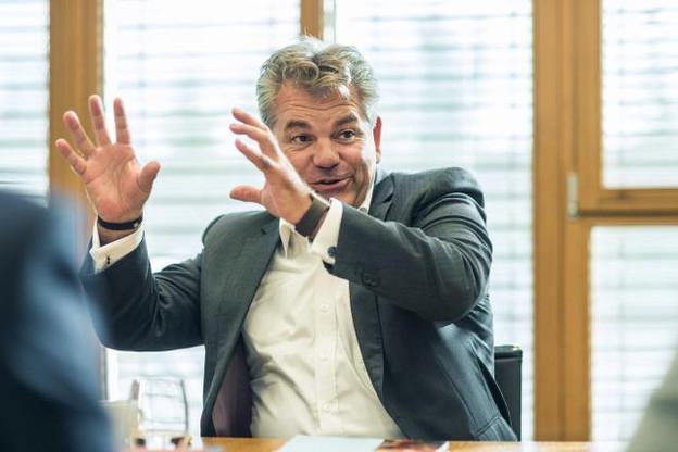 John Parkhouse nous a confirmé être candidat à un second mandat à la tête de PwC Luxembourg. (Photo: Mike Zenari)