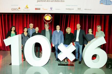 Les 10 orateurs de ce 10x6 Architecture n'ont pas tari d'éloges pour 10 de leurs confrères et leurs projets.  (Photo: Maison Moderne)