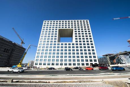 Deloitte occupera son nouveau siège en mai 2019, avec une livraison prévue dans les prochaines semaines. (Photo: Anthony Dehez / archives)