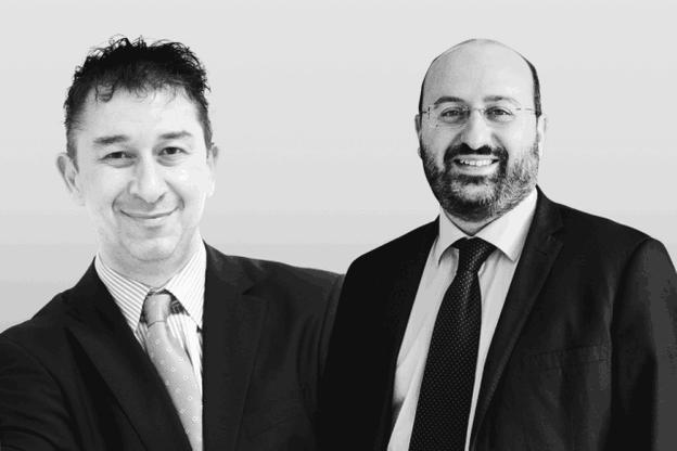 Christian Strasser, directeur général de Lalux, et Yohann Niddam, managing partner chez Périclès Luxembourg. (Photo: Maison Moderne)