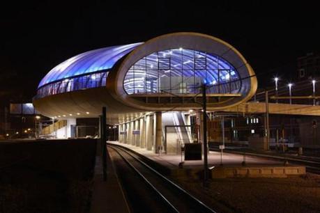 Lors de l'édition 2011, c'est la gare Belval-Université de l'Atelier d'architecture et de design Jim Clemes qui avait remporté le Prix du public. (Photo: Atelier d'architecture et de design Jim Clemes)
