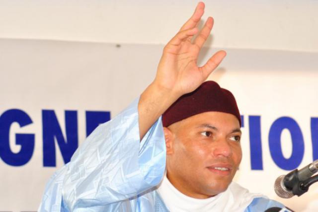 Karim Wade proclamé «tout puissant ministre du ciel et de la terre». (Photo: liberezkarimwade.com)