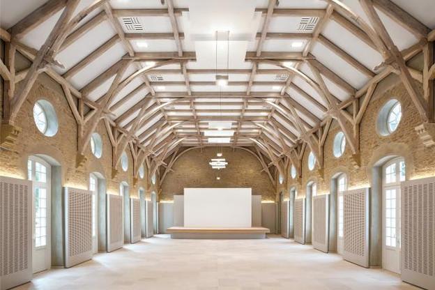 Lauréat 2012 de la catégorie Aménagement intérieur: transformation de la Schéiss  par Jean Petit architectes avec Daedalus Engineering, Schroeder & associés et Goblet Lavandier & associés. (Photo: OAI)