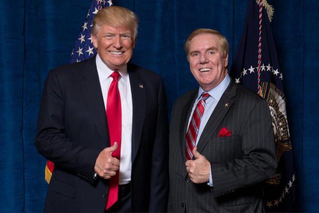 L'avocat d'Atlanta, proche du parti républicain, a été nommé par Donald Trump pour devenir ambassadeur au Luxembourg.  (Photo: Twitter / Randy Evans)