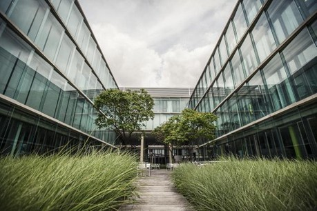 FundRock, la nouvelle société créée, occupe les mêmes locaux que RBS Luxembourg, à Hesprange. (Photo: Mike Zenari / archives)